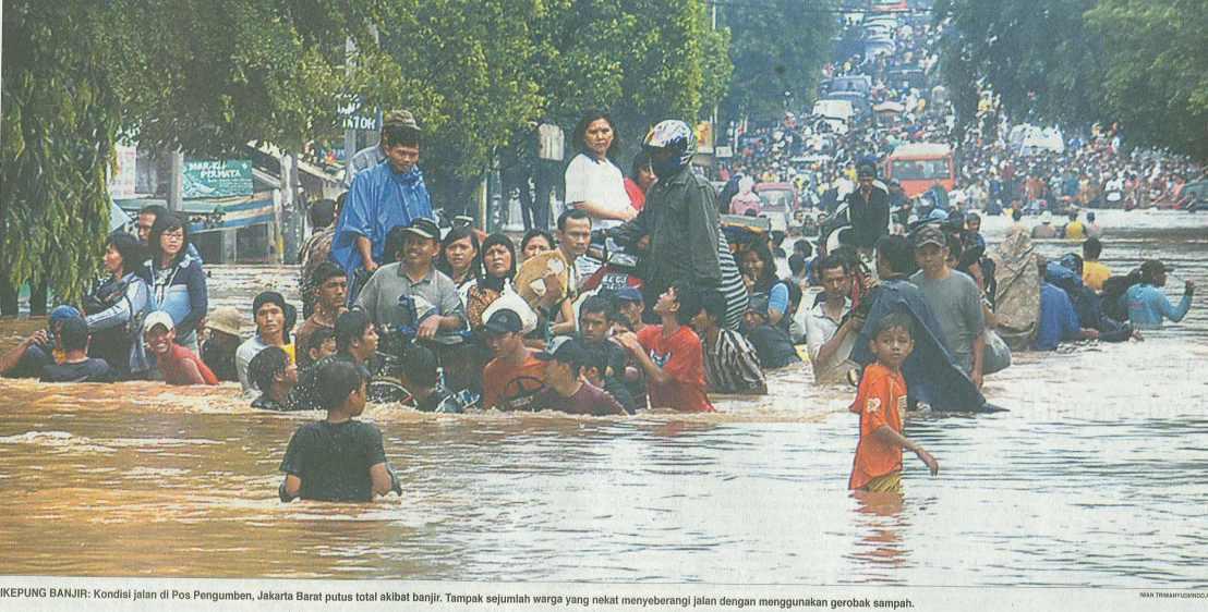 Aku Pernah Hampir Hanyut Karena MenerjangBanjir!