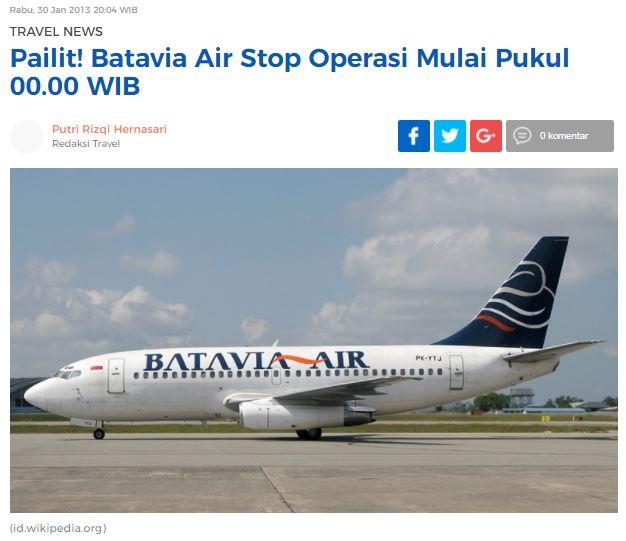 batavia air news